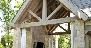 Stone Loggia This stunning loggia features impressive ceilings with limed Timber...