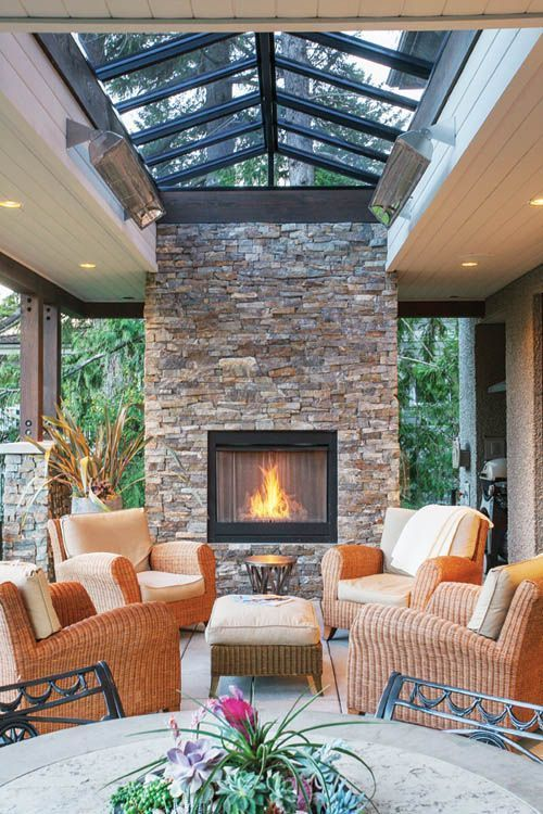 Outdoor Living Room: 25+ Gorgeous Inspirations for a Cozy ...