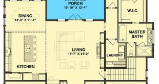 Plan 765008TWN: Split-Bedroom Country Cottage Plan with Outdoor Living