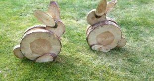 20 Super Easy DIY Holzdekorationen, um Ihr Zuhause zu Ostern zu verschönern