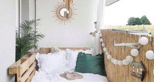 24 Möglichkeiten, das Beste aus Ihrem Balkon Ihrer kleinen Wohnung zu machen