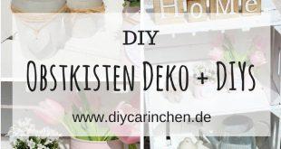 DIY: Mit Obstkisten den Garten dekorieren? Wie wäre es mir dieser tollen Idee?