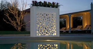 Modern Contemporary Flower Pots - outdoor light up decoration by Bysteel