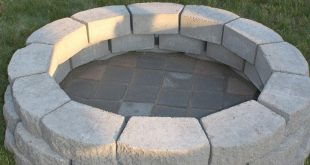 10 Ideas How to Makeover Outdoor Backyard Firepits