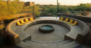 15 Adorable Outdoor Fire Pit Designs With Natural Shades Ideas