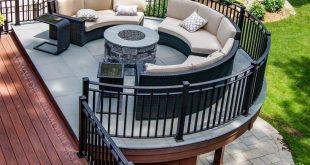 19 backyard patio deck design decoration ideas 6
