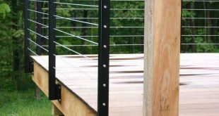 30+ Awesome DIY Deck Railing Designs & Ideas For 2019