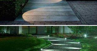 33 Perfect Walkway Landscape Lighting Ideas