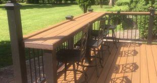 ✔34 attractive deck patio design you should try for your backyard 23