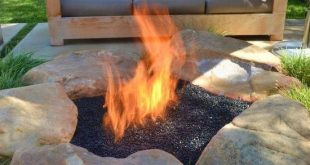 35 Smart DIY Fire Pit Projects - Backyard Landscaping Design