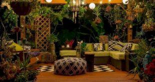 Backyard Lighting Ideas - Patio, Doors & Outside Backyard - #Backyard #Doors #id...