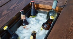 Building Plans: Patio Table with Built-in Drink Coolers (Remodelaholic)