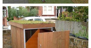DIY Bauen Sie ein Fahrradlager Shack
