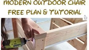 DIY Outdoor Seating Projects Tutorials & kostenlose Pläne