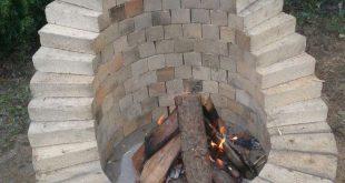 Das ist eine, der vielen Möglichkeiten, eine Feuerstelle im Garten zu bauen. Di...