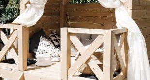 Luxus Playhouse Beach Bungalow Playhouse im Freien einzigartig - upcycling möbel