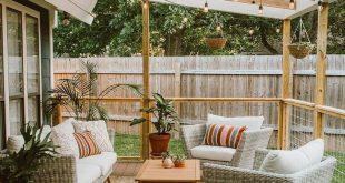 Outdoor-Deck-Ideen für bessere Hinterhofunterhaltung #bessere #hinterhofunterha