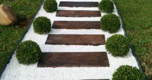 Saubere Stein- und Holzleitereffekt #effekt #holzleiter #sauberer #stein